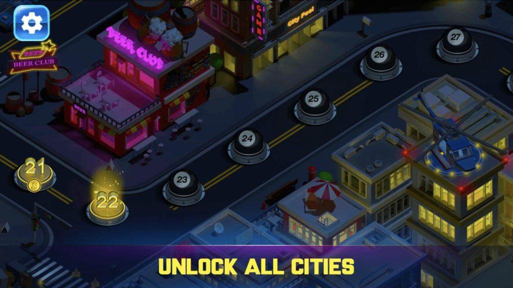 لعبة Billiards City للأندرويد