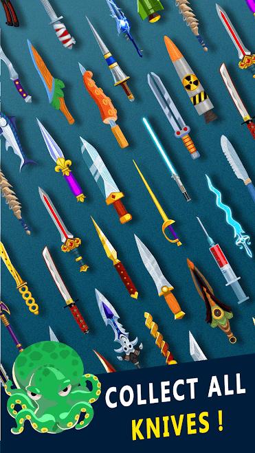 لعبة رمي السكين