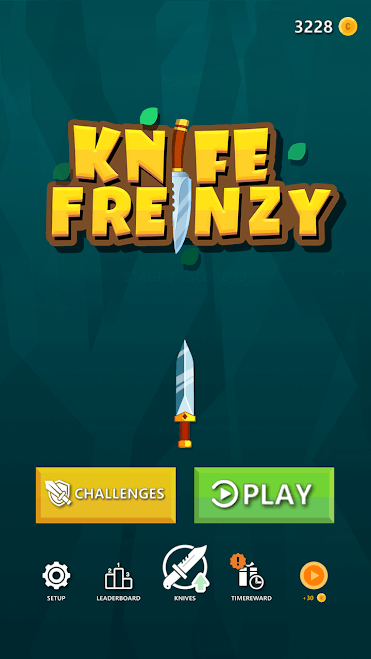 تطبيق Knife Frenzy